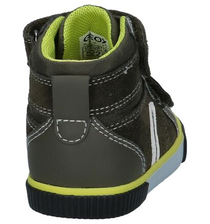 Geox Chaussures hautes en Gris foncé en daim (223174)