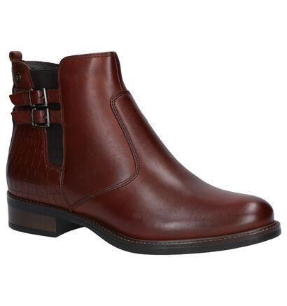 Tamaris Bruine Boots in leer (257082)