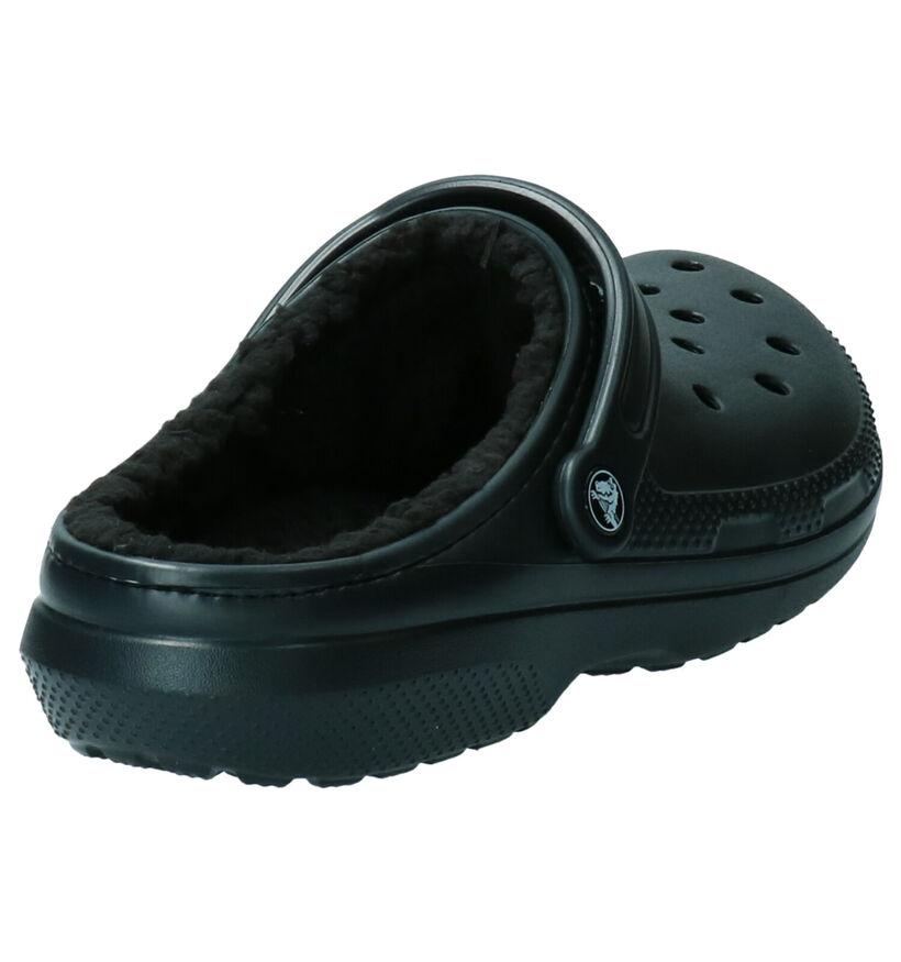 Crocs Classic Pantoffels Zwart in kunststof (255815)