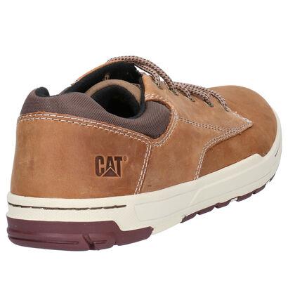 Caterpillar Colfax Chaussures à lacets en Brun en textile (266928)