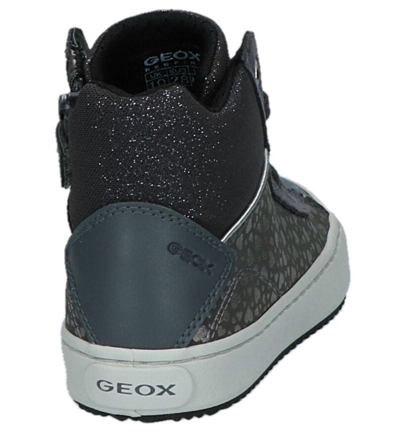 Geox Baskets hautes en Gris en daim (223131)