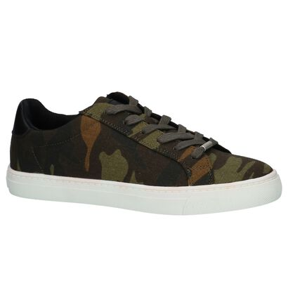 Dazzle Sneakers Camouflage in stof (221289)