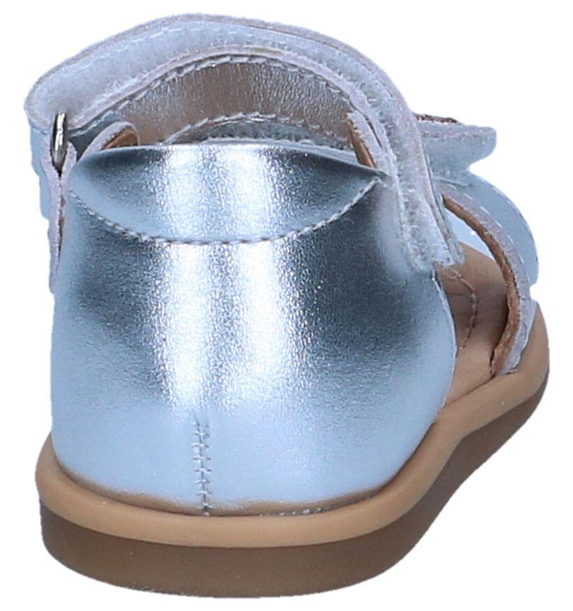 Shoo Pom Sandales pour bébé en Argent en cuir (242880)