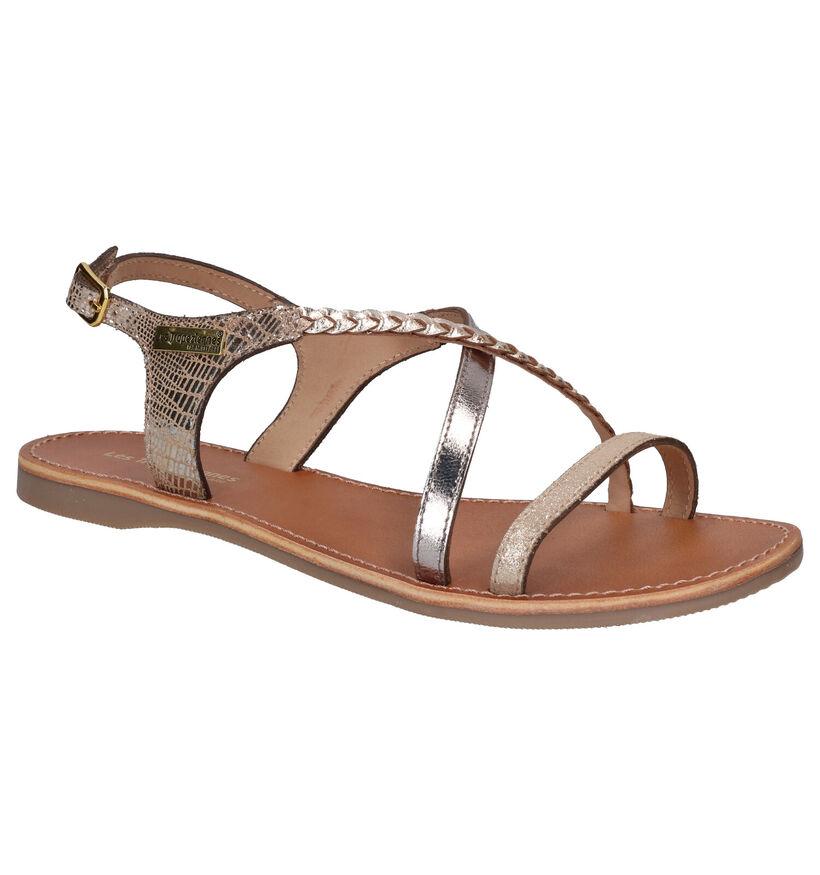 Gouden Sandalen Les Tropeziennes Hanano in nubuck (244353)