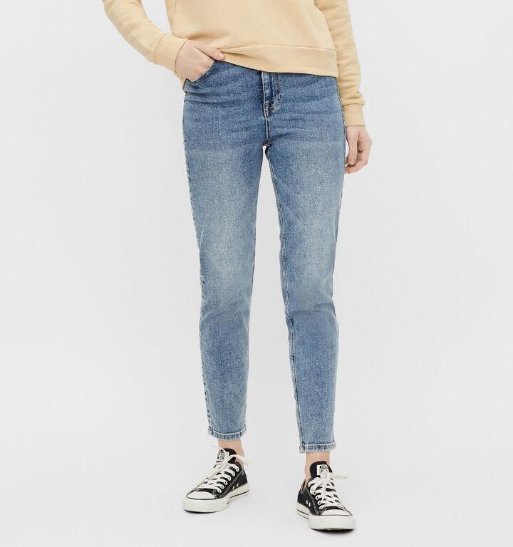 Pieces Lili Slim Blauwe Jeans