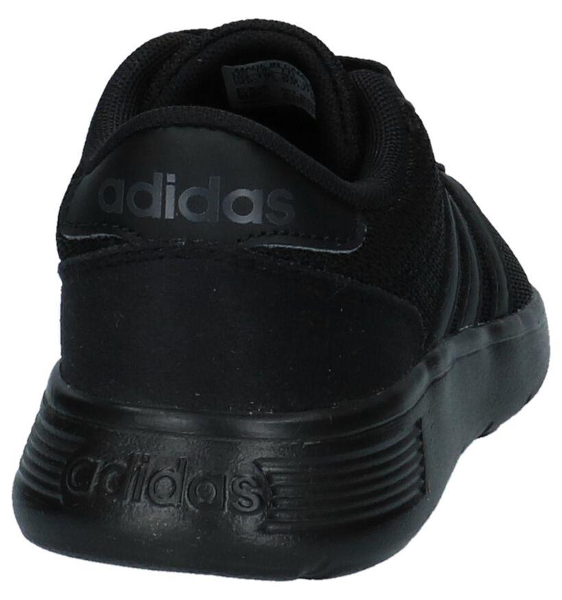 adidas Lite Racer K Baskets en Noir en textile (252516)