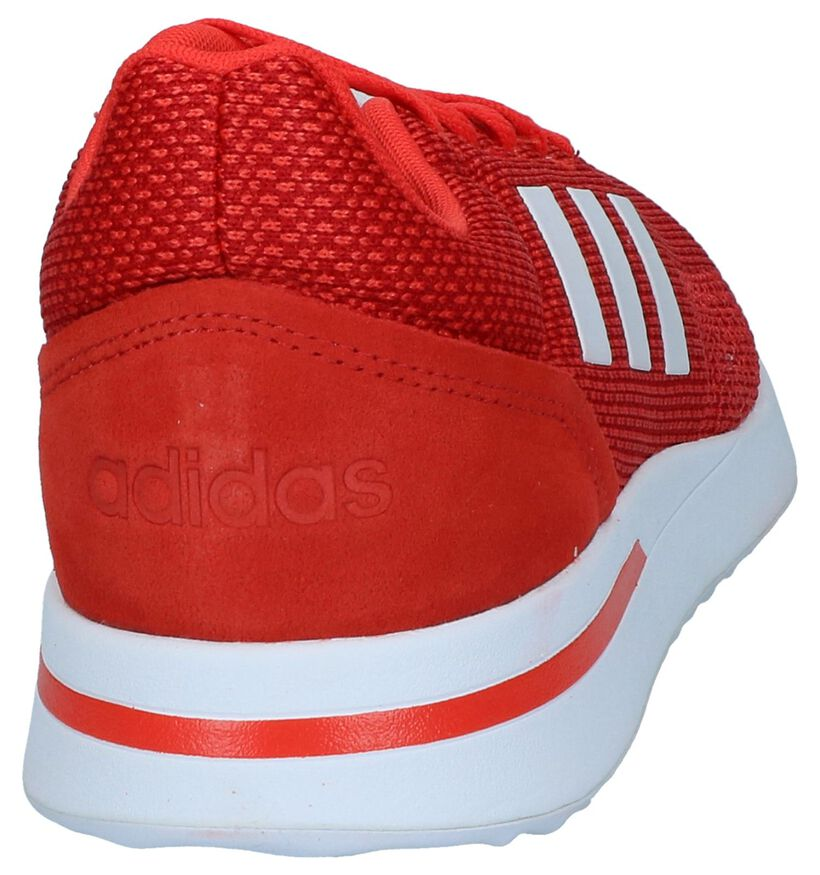 adidas RUN 70S Baskets en Noir en cuir (261830)