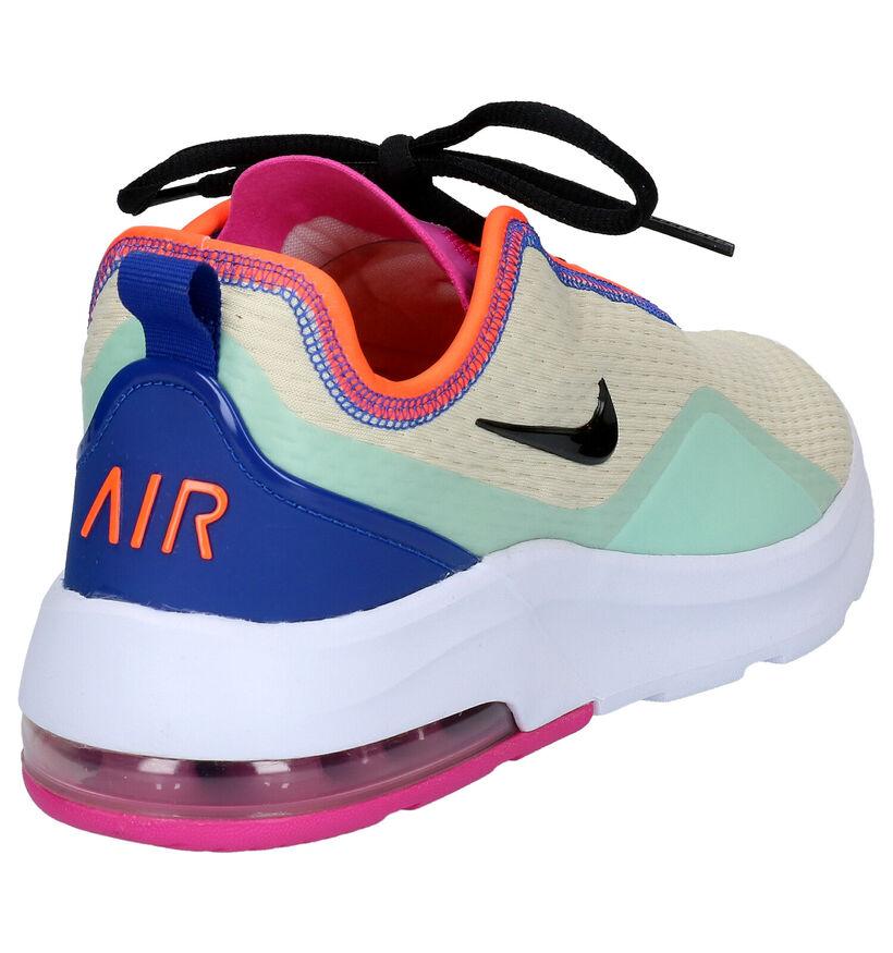 Nike Air Max Motion Witte Sneakers in stof (265867)