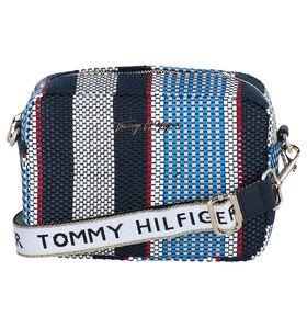 Tommy Hilfiger Iconic Blauwe Crossbody Tas in stof (285805)
