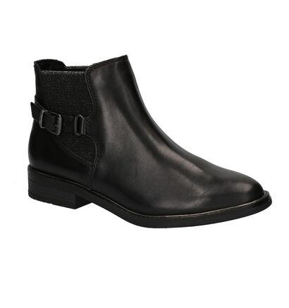 Marco Tozzi Bottines en Noir en cuir (257095)