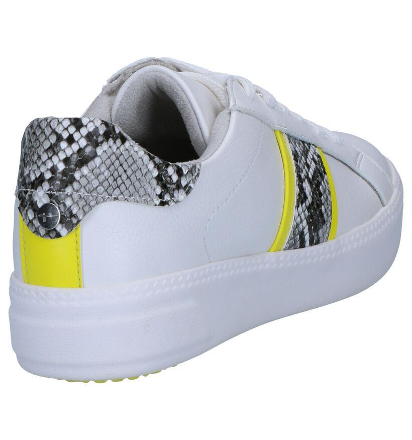 Tamaris TOUCH it Sneakers en Blanc en simili cuir (265677)