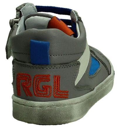 Romagnoli Grijze Rits/Veter Boots, Grijs, pdp