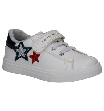 Tommy Hilfiger Witte Sneakers in kunstleer (266566)