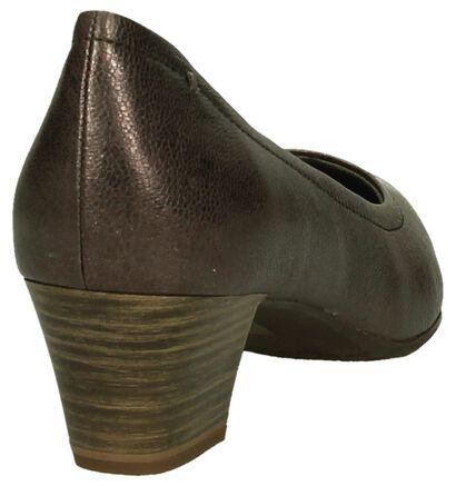 Tamaris Escarpins classique en Bronze en cuir (202570)