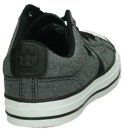 Zwarte Lage Sportieve Sneakers Converse Star Player Ox, Grijs, pdp