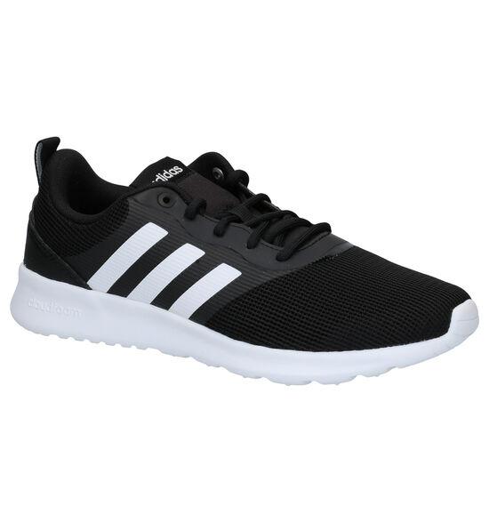 adidas QT Racer 2.0 Zwarte Sneakers