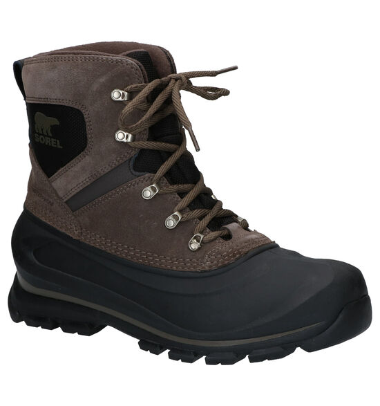Sorel Buxton Lace Boots Taupe