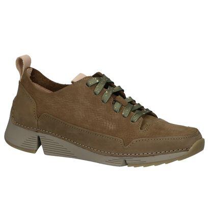 Clarks Chaussures à lacets  (Vert kaki), Vert, pdp