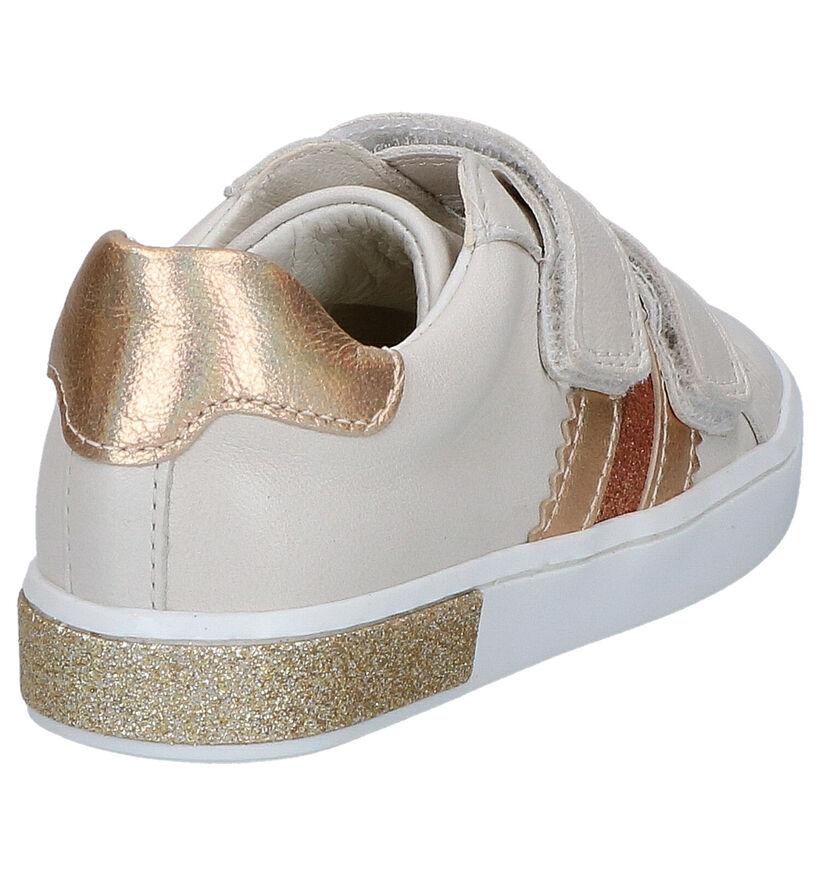 Milo & Mila Chaussures basses en Beige en cuir (266192)