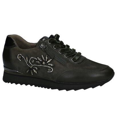 Gabor Best Fitting Chaussures à lacets en Vert kaki en cuir verni (231165)
