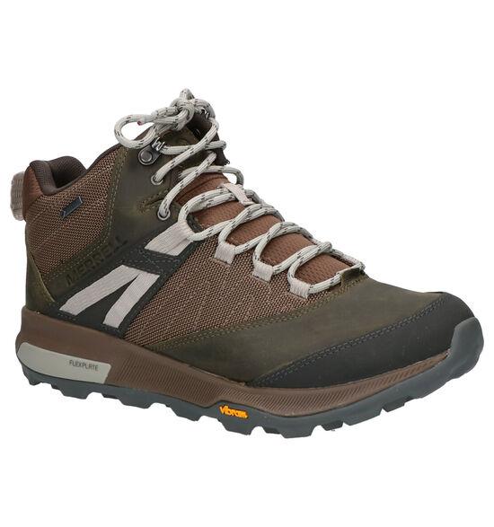 Merell Zion Mid GTX Chaussures de randonnée en Kaki