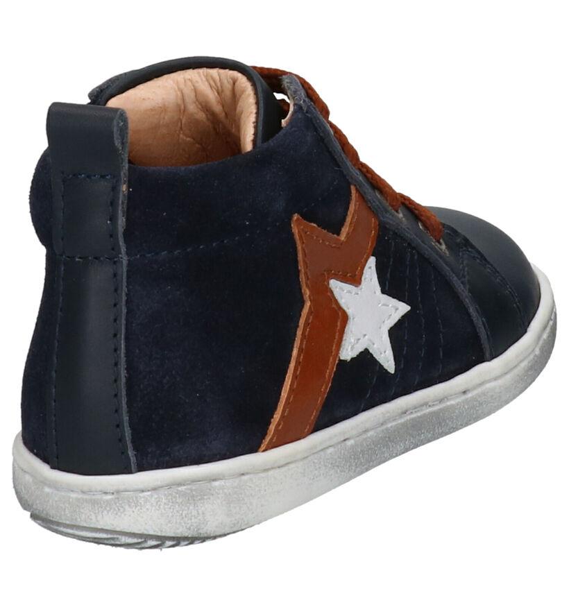 Lunella Chaussures pour bébé  en Bleu foncé en cuir (259005)