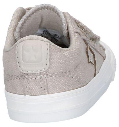Converse Starplayer 2V OX Zwarte Sneakers in stof (266030)