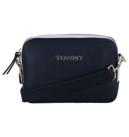 Witte Crossbody Tas Tommy Hilfiger TH Corporate , Blauw, pdp