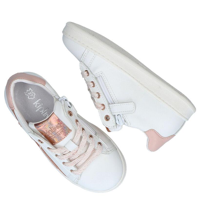 Kipling Vipster Chaussures à lacets en Blanc en cuir (289320)