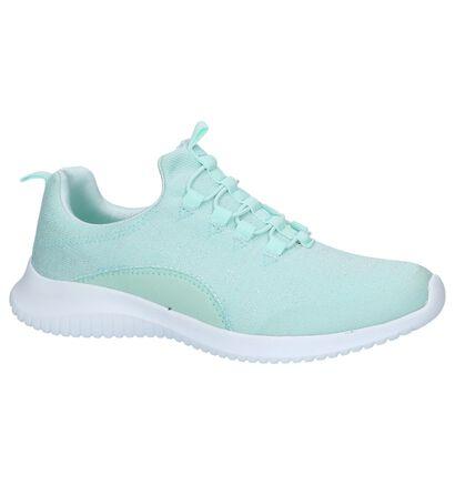 Slip-on Sneakers Zwart Dazzle, Groen, pdp