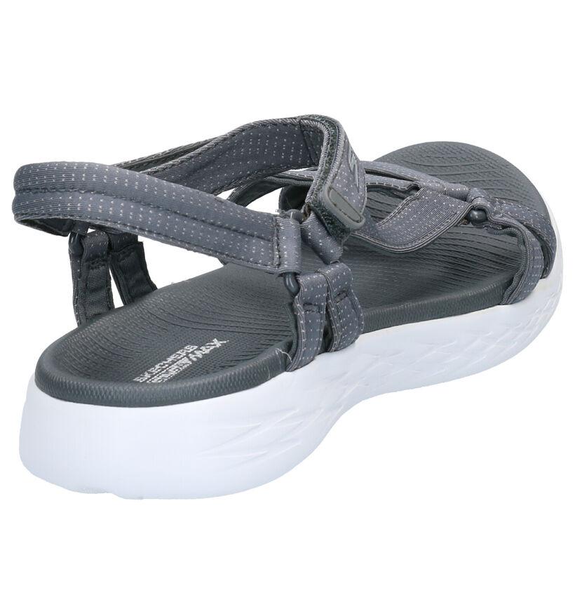 Skechers ON-THE-GO Sandales en Gris en textile (272732)
