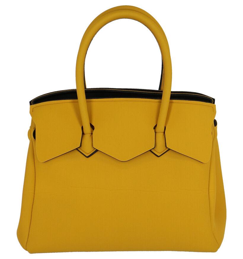 Save My Bag Miss Plus Gele Handtas in stof (253016)