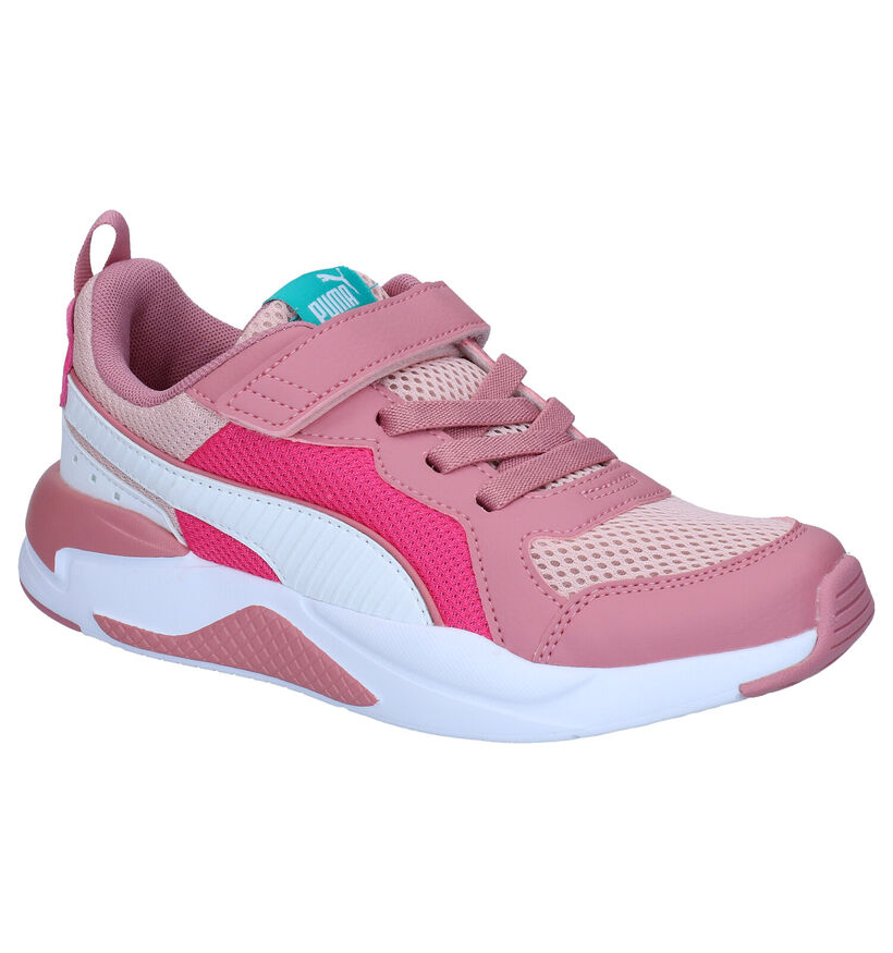 Puma X-Ray Baskets en Rose en simili cuir (276749)