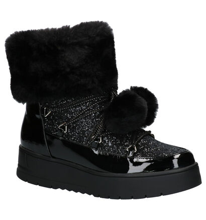 Youh! Zwarte Snowboots in kunststof (256577)