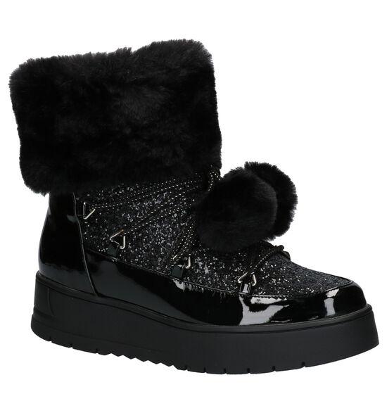 Youh! Zwarte Snowboots