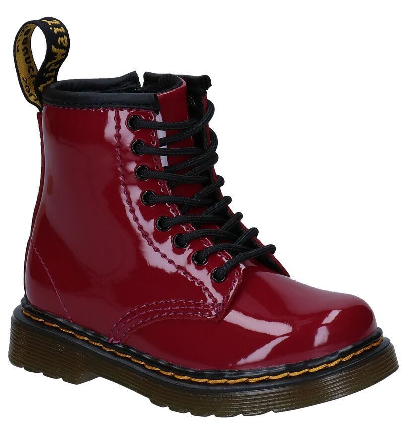Dr. Martens 1460 Bordeaux Boots in lakleer (277255)