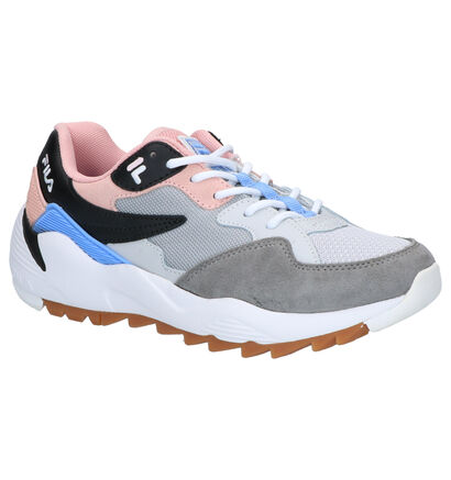 Fila Vault CMR Grijze Sneakers in daim (253530)