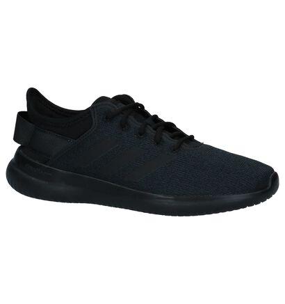 adidas Cloudfoam Zwarte Sneakers in stof (221612)