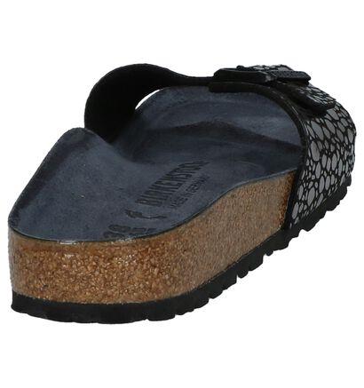 Birkenstock Nu-pieds plates  (Noir), Noir, pdp