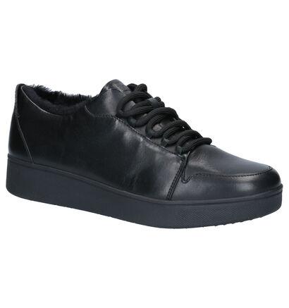 FitFlop Camryn Baskets en Noir en cuir (255997)