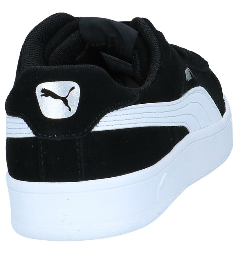 Puma Baskets basses en Noir en simili cuir (239356)