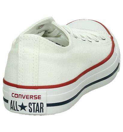 Zwarte Sneakers Converse Chuck Taylor AS OX , Wit, pdp