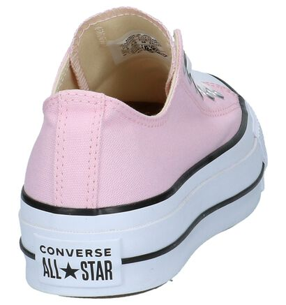Witte Sneakers Converse All Star Lift OX, Roze, pdp