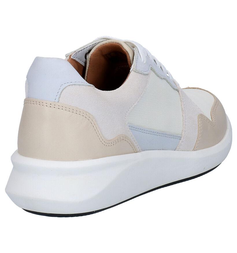 Clarks Chaussures à lacets en Écru en textile (275671)