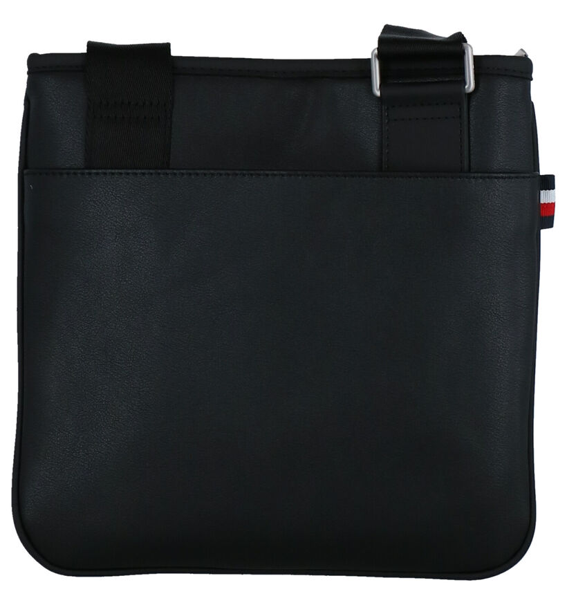 Tommy Hilfiger TH Metro Sac Porté Croisé en Noir en simili cuir (264603)