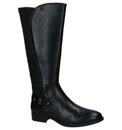 Caprice Zwarte Lange Laarzen, Zwart, pdp