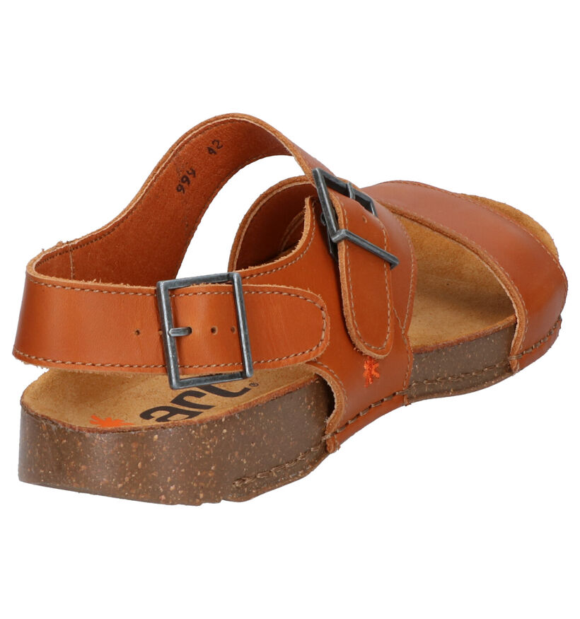 Art Zwarte Sandalen in leer (288783)