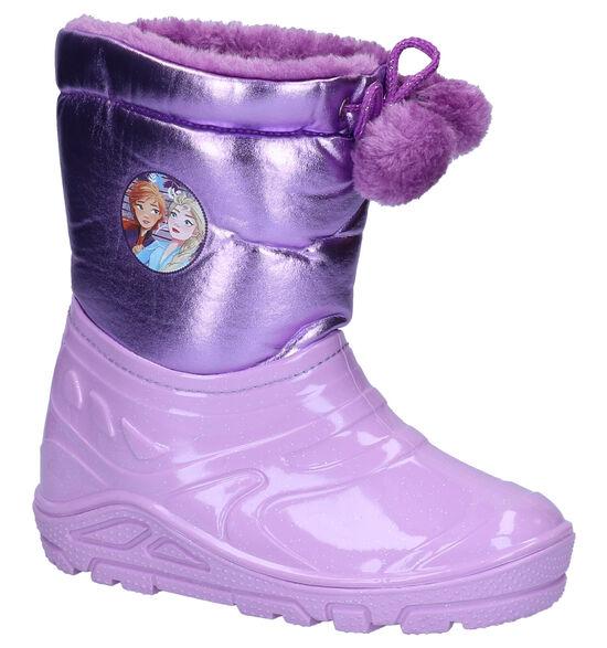 Frozen Bottes de neige en Violet