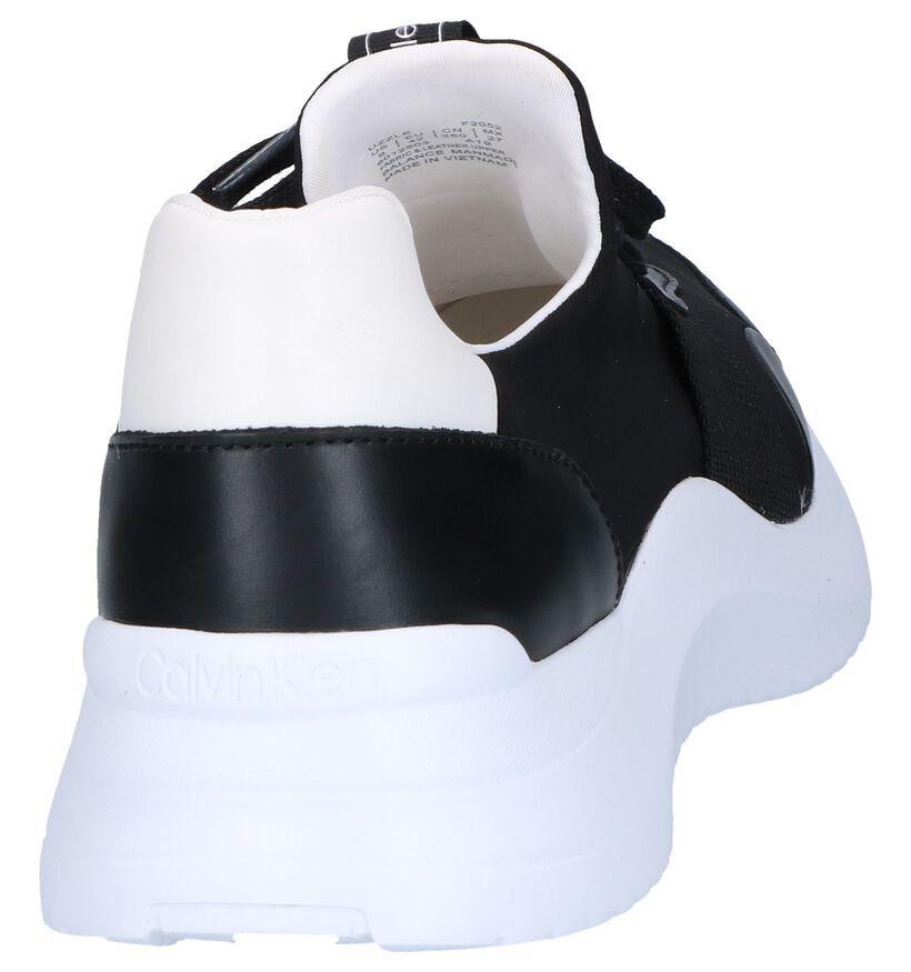 Zwarte Sneakers Calvin Klein Uzzle in leer (248900)