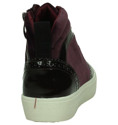 Aubergine Sneaker Tamaris, Bordeaux, pdp